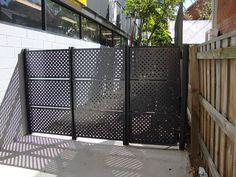 perforated metal gate                                                                                                                                                                                 More