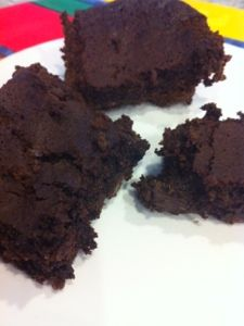 Double Chocolate Brownies - healthy decadence by Devin Alexander - published in Today's Diet & Nutrition