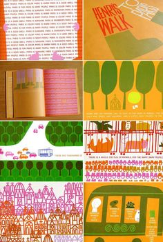 Henri's walk to Paris - illustrated by Saul Bass