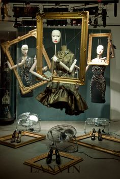 The World's Fashion Windows, Online in Real-Time · Lanvin, Paris,  November 2012