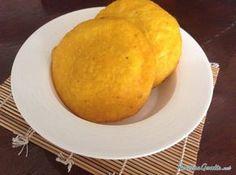 Arepas de huevo colombianas