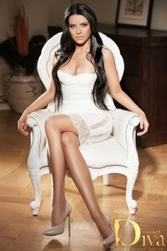 Stunningly attractive, gorgeous Giorgia is an Eastern European escort whose looks will take your breath away.  With her silky waist length dark hair and her piercing blue eyes, Giorgia has a fantastic slim but busty figure and the most gorgeous face