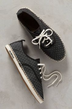 Slide View: 1: SeaVees Sorrento Polka-Dotted Sneakers