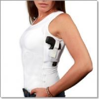 Concealment under shirt Tank!!   Way cool for women with a concealed weapon!