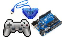 Arduino, Playstation, Console, Electronics, Games, Consoles, Gaming, Toys, Roman Consul