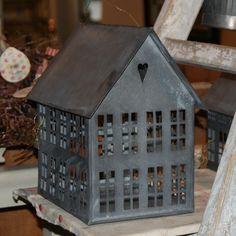 Walther & Co Zinc House Lantern - Large