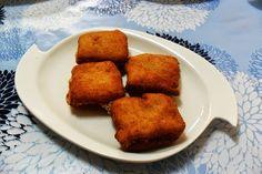 La cocina de Isabel: FLAMENQUINES Y MINI SAN JACOBOS DE PAN DE MOLDE