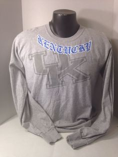 University Of Kentucky Long Sleeve Tshirt Size Med #Gildan #KentuckyWildcats