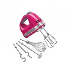Shop KitchenAid - 9 Speed Hand Mixer Onyx Black at Peter's of Kensington. View our range of KitchenAid online. Why in the world would you shop anywhere else for KitchenAid? Candy Apple Red, Candy Apples, Red Apple, Small Kitchen Appliances, Kitchen Tools, Kitchen Dining, Kitchen Stuff, Kitchen Gadgets, Kitchen Supplies