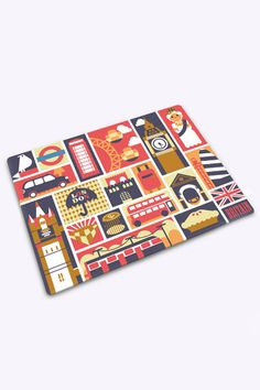Joseph London Bus Cutting Board Odor And Stain Resistant Surface For