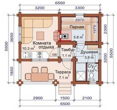 Проект бани-дома (рис.5)