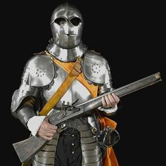 Knight with arquebus