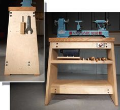 Woodworking School How to build the Ultimate Lathe Stand: American Woodworker - A good lathe stand is just as important as a good lathe. Build a professional-quality lathe stand that's stable, strong and heavy. Woodworking Tool Cabinet, Woodworking School, Learn Woodworking, Popular Woodworking, Woodworking Plans, Woodworking Projects, Woodworking Machinery, Woodworking Videos, Wood Turning Lathe
