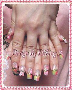Garden of colors - gel nails