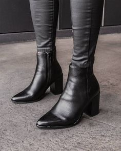The perfect little black boot just got better with LORNE! Bata Shoes, Get Well, Black Ankle Boots, Instagram, Fashion, Moda, Fashion Styles, Fashion Illustrations, Black Booties