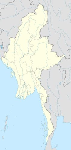 Lashio  လားရှိုးမြို့ is located in Myanmar