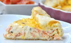 quiche au saumon et à la ricotta avec Thermomix, une délicieuse quiche crémeuse et fondante, facile et rapide à réaliser pour un repas du soir léger accompagnée d'une bonne salade.