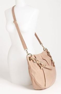 1d647c79defa VINCE CAMUTO  Cristina  Crossbody Bag in light pink clean inside