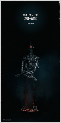 Star Wars Alternative Movie Poster by Avanaut - #IG-88 #starwars
