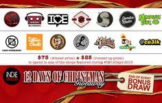 Bonus Day #IM12Days Prize Giveaway