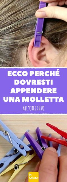 That's why you should hang a clothespin in your ear. Self Massage, Qigong, Doterra Essential Oils, The Cure, Health Fitness, Wellness, Good Things, Yoga, Beauty