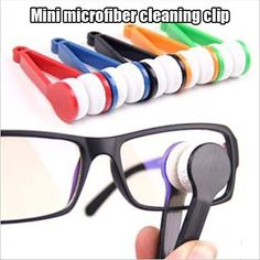 Neat idea to clean glasses