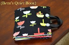 Baby quiet book (plus links to more toddlery quiet books with finger puppets and other fun)