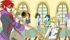When Thoth and Yui aren't in class B) -Kamigami no Asobi