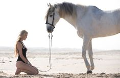 horses, swimwear + beach
