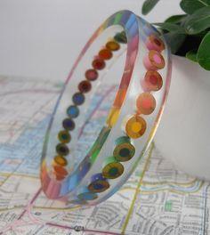 Resin Bracelet Bangle Bracelet Resin Jewelry Colored
