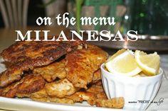 On the menu-milanesa