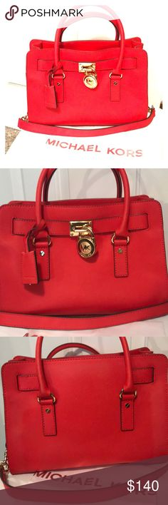 e73581f314de Beautiful Michael Kors Purse Beautiful leather Michael Kors purse used  once. Michael Kors Bags Satchels