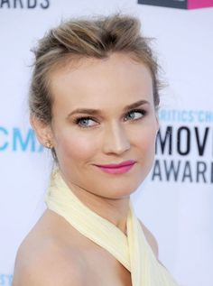 Forever crush Diane Kruger says she's got a mountain of products from which she crafts beautiful, beautiful looks—but it couldn't possibly be true because she's so well-blended! (But I guess her signature coppery eye proves it—or that her secret makeup artist is really consistent.)