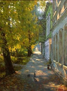 Dmitriy Levin - Russian artist Dmitry Levin was born in 1955 in Morshansk, Tambov region. He graduated from the Penza Art College.