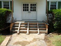 The Best Way to Build/Pour Concrete Steps
