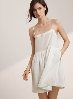 A lightweight cotton dress made to withstand the heat.