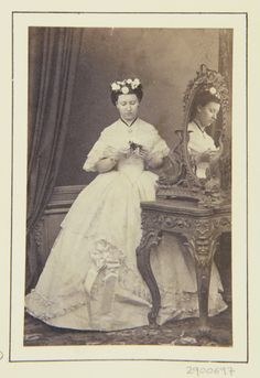 Princess Helena, March 1863 [in Portraits of Royal Children Vol.6 1862-1863] | Royal Collection Trust