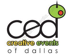 Logo Design for Creative Events of Dallas events venue & catering, designed by Moksha Media of Dallas - Daymond E. Media Logo, Best Logo Design, Cool Logo, Event Venues, Web Development, Catering, Dallas, Branding, Events