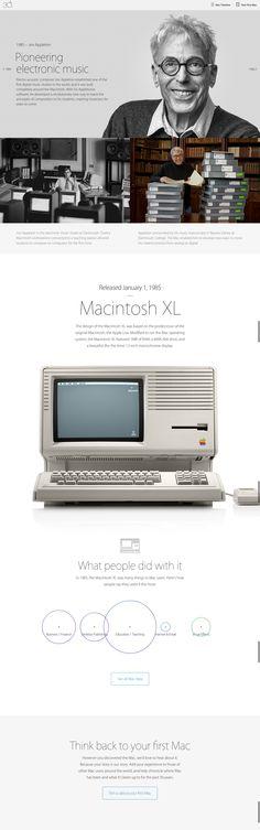 Apple Thirty Years 1985. Jon Appleton and Appletones music software.