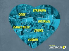 For the love of Jazzercise classes!