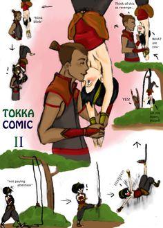 Tokka Comic: Revenge is Sweet by eurogabby