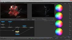 Part 6 - Blackmagic Fusion - CRüSTAL -  ColorGrading & PostProcess