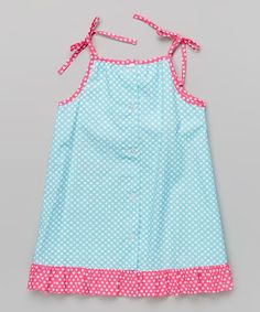 Turquoise Circles Fish Jumper - Infant, Toddler & Girls | zulily