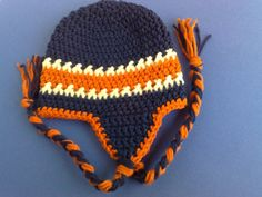 Denver Broncos HatsNFL Hats Football Hats by RevelynsHandcrafts, $16.00