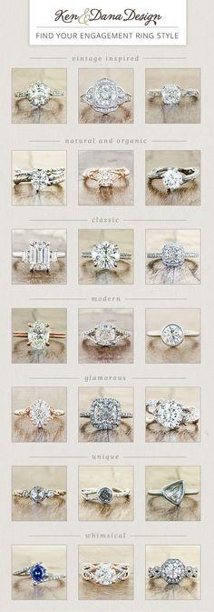 Diamond Engagement Rings Thin Band