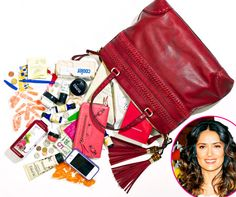 Salma Hayek: What's in My Bag? - Us Weekly