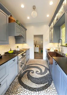 Pool house kitchen by Jan Ledgard of Yorkshire Kitchens for the 2013 Pasadena Showcase House of Design Monday, April 15, 2013. (SGVN/Photo by Walt Mancini)