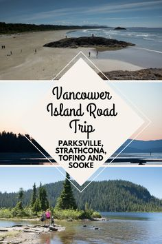 Do you have one week to explore Vancouver Island? These are the places you need to see if you love nature, beaches and trails. Canada Vancouver, Victoria Vancouver Island, Banff, Rocky Mountains, Beautiful Places To Visit, Places To See, British Columbia, Quebec, Parks