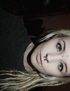 third eye piercing. cute on some people. idk about me.. :P its something you'd really have to think about.