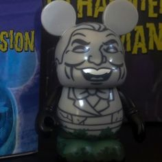 """Free Shipping this Weekend at Disney Pin Hunters on @Ebay Disney Haunted Mansion 3"""" Vinylmation Singing Bust w Foil & Box"""